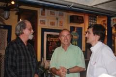 Georges Gachot com alguns convidados