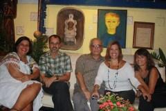 Stella Caymmi, Arthur Xexéo e amigos