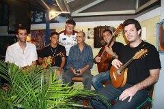 Felipe Lélis, Giovane Nobre, Luiz Carlos Lourenço, Joel Nascimento, Allan 7 cordas e Ronaldo Rodrigues
