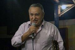 Genésio Nogueira, em participação especial, ao som de Zequinha de Abreu,  encerrou o show