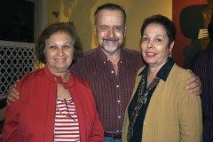 Sônia Lisker, Ricardo Carvo Albin e Maria de Nazareth Onaissi