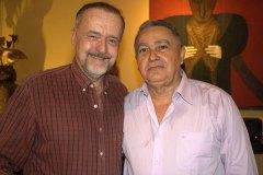 Ricardo Cravo Albin e Genésio Nogueira, momento especial