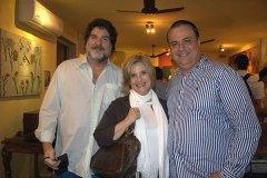 Henrique Pedrosa, Deise Celestino e Luiz A. de Almeida, novos encontros entre velhos amigos
