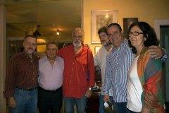 Cravo Albin, Genésio Nogueira, Luis Fernando Vieira, Henrique Pedrosa, Luiz A. de Almeida e Cristina Caetano