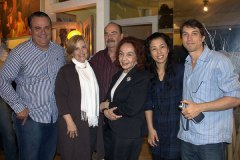 Luiz Antônio de Almeida, Deise Celestino, Lauro Gomes, Maria Josephina Mignone, Yuka Shimizu e Sérgio Alberto