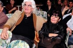 O casal Maria Luiza e Marlos Nobre