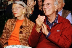 O casal Maria e Saturnino Braga