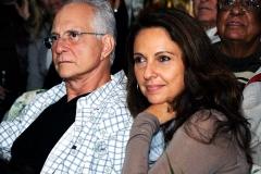 O casal Cristina e Luiz Alfredo Salomão