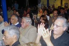 A platéia lotada apreciou o virtuosismo dos músicos que subiram ao palco do ICCA
