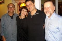 Joel Nascimento, Mariana Baltar, Josimar Carneiro e Cravo Albin