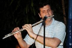 O som da flauta iluminou a noite de Choro na Urca