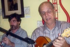 A clarineta de Ruy e o bandolim de Joel: uma festa para os ouvintes