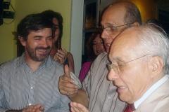 Rui, Joel e Gerdal dos Santos