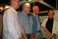 Dirceu Leite recebe o Diploma Ernesto Nazareth de Pratini de Moraes e Saturnino Braga