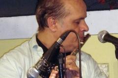 A flauta também fez parte do espetáculo de virtuosismo oferecido por Dirceu Leite