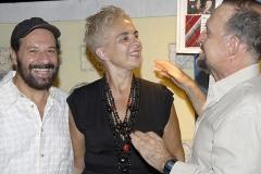 O casal João e Ângela Bosco conversa com Ricardo Cravo Albin no Museu do Casarão