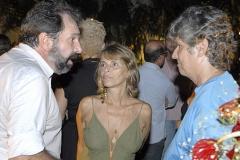 Paulinho e Heloisa Tapajós conversam com Alejandro Roig (Vice-Presidente da Repsol)
