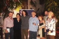 Cravo Albin, Olívia Hime, Geraldinho Carneiro, Francis Hime, entre outros amigos