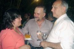 Cravo Albin recebe os pernambucanos Gracinha Melo e Carlos Fernando Andrade (Superintendente do IPHAN-RJ)