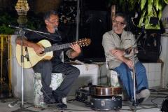 Guinga recebeu homenagem de todos os muitos amigos músicos presentes