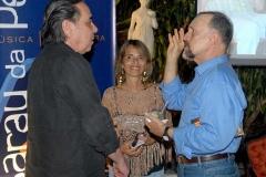 Edu Lobo e Ricardo Cravo Albin conversam com Heloísa Tapajós